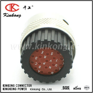 192900-0057 19 hole female electric connectors ITT-F-19
