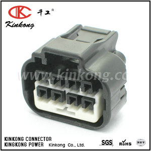 8 pole female waterproof electronic connectors CKK7081C-2.2-21