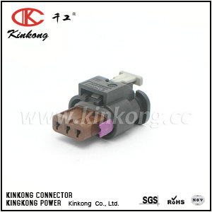 4F0 973 703A 1718653-1 2-1718652-3  3 pole waterproof plug for Tyco replacement   CKK7032E-1.0-21