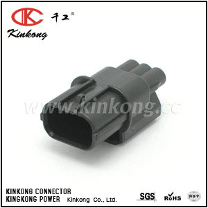 6188-4739  3 pole male waterproof auto connector   CKK7031A-1.2-11