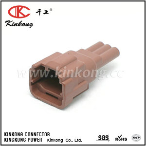 7282-7771-80  3 pole male waterproof plug   CKK7032H-1.2-11