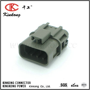 7122-1884-40  8 way male waterproof automotive electrical connectors   CKK7088Y-2.8-11