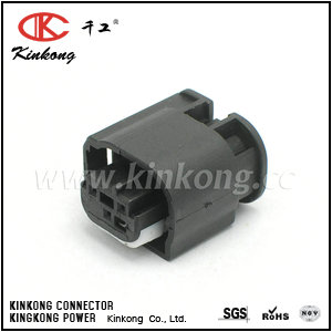 3 pole female waterproof wire connector  CKK7031A-0.7-21