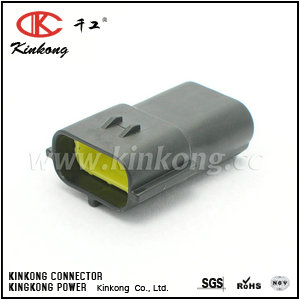 174359-2  3 pole male wire connector for TE replacement    CKK7032-1.8-11