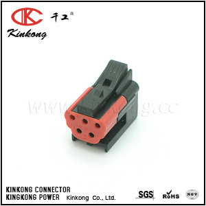 5pole female automotive electrical connectors  CKK3052B-1.5-21