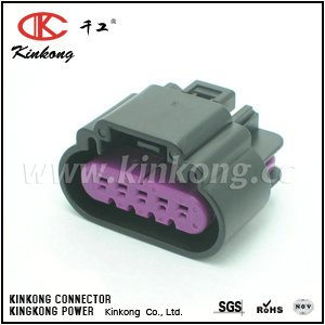 5 pin female waterproof type automotive electrical connectors  CKK7051D-1.5-21