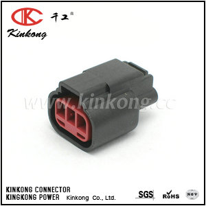 3 hole female   electrical wire connectors  CKK7032C-2.2-21