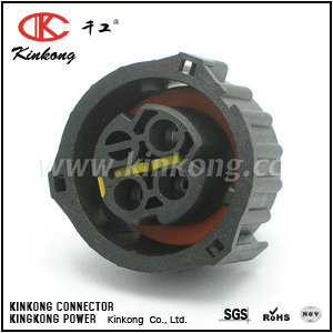 3 way female waterproof type cable connectors CKK3032-2.5-21