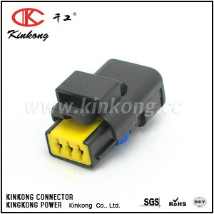 211PC032S0049 3 way female cable connectors CKK7031-2.5-21