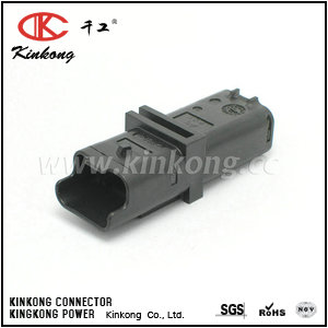 211PL032S0049 3 hole male waterproof cable connectors CKK7031-2.5-11