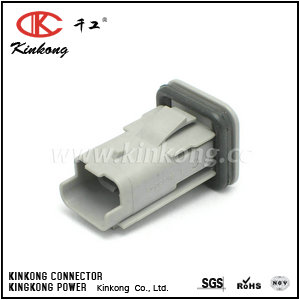 3 pin male waterproof type automotive electrical connectors CKK7031A-2.5-11