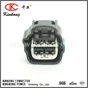 7283-7041-40 4 hole female wire connector CKK7041-4.8-21