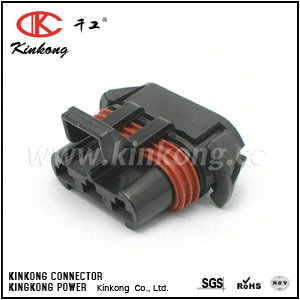 12124685 3 hole female waterproof type electrical automotivel connectors CKK7032-6.3-21
