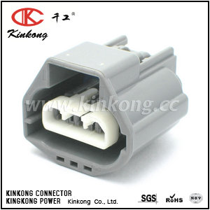 3 way female waterproof type automotive connectors CKK7031C-2.8-21