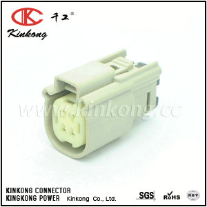 33472-4002 4 pin receptacle automotive connectors CKK7041G-1.0-21