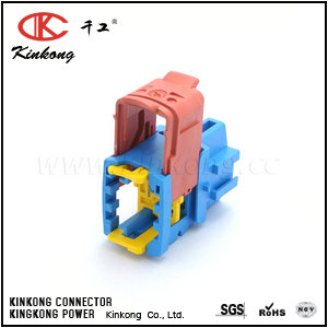 3 hole female car connectors CKK7036-6.3-21