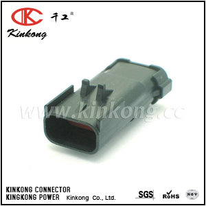 54200312 3 pin female waterproof type automotive electrical connectors CKK7037-2.8-11