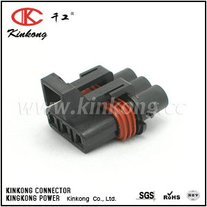 3 hole female waterproof type cable connectors CKK7033-3.0-21