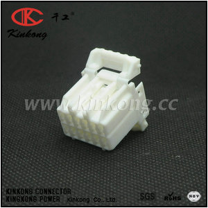 174913-6 12 way female waterproof type automotive electrical connectors