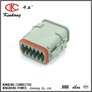 DT06-12SA-E008 12 pin female waterproof type cable connectors