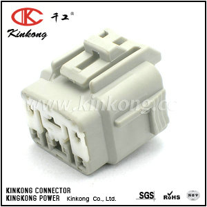 6189-0143 6 pin female waterproof electric wire plug CKK7061-2.2-4.8-21