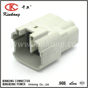 6188-0187 6 way  male Hybird automotive connector CKK7061-2.2-4.8-11