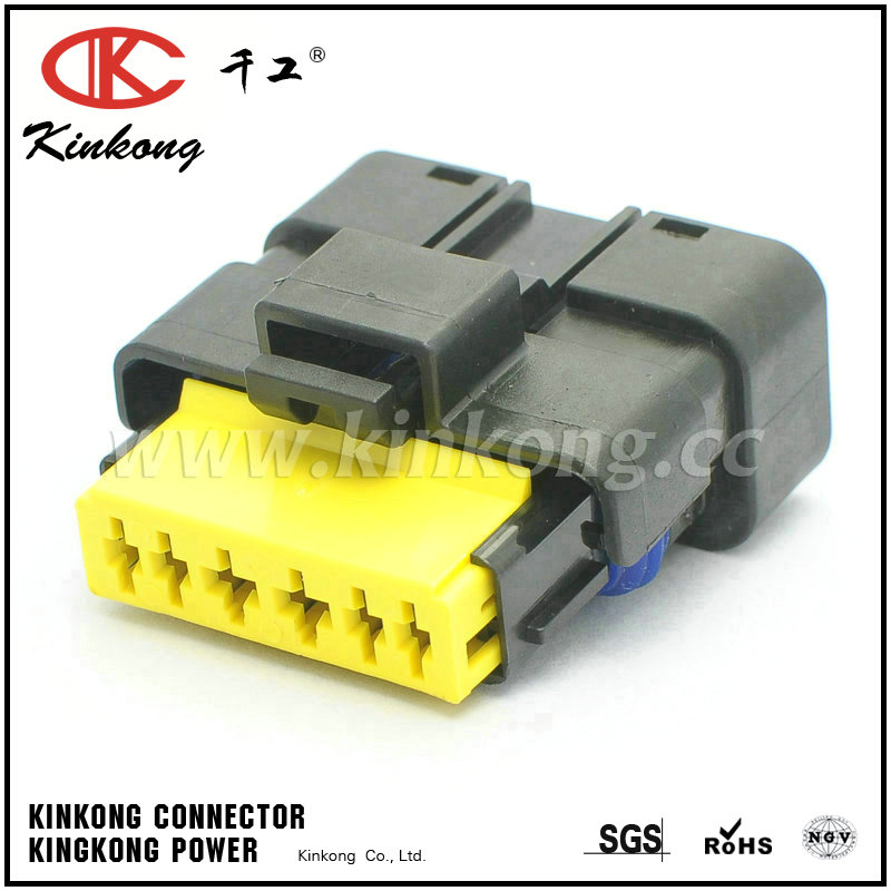 211PC069S0049 6 way female waterproof type automotive electrical connectors CKK7061-1.5-2.5-21