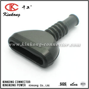 Rubber boot for 6 way automotive connector CKK-6-003
