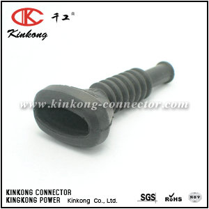 4A0 906 102A  Car rubber boot for 3 pin female male automotive connector for Audi