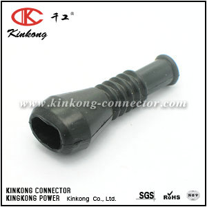 Rubber boot for 2 pin automotive connector CKK-2-003