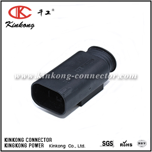 1-967584-1 Kinkong 4 pin male wire connector CKK7041A-0.7-11