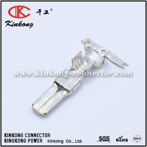 Pin Contact for electric wire plug CKK013-6.3MS