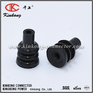 172746-1 Black seal for insulation dia. 1.4-2.4 mm (.055-.094 in)
