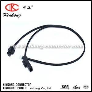 Waterproof Automotive Wire harness Custom cable assembling loom with TycoAmp connector