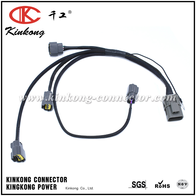 Automotive electric connector wire harness
