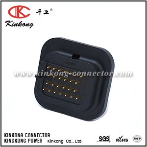 6437288-6 1437288-6 26 pin superseal automotive connector with tin plating or gold plating CKK726S-1.6-11