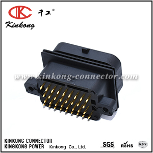 2-6447232-3 2-1447232-3 34 pin ECU auto pcb connector with tin plating or gold plating CKK734A-1.6-11CKK734S-1.6-11