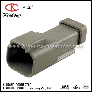 DT04-2P-E003 AT04-2P-EC01 2 way In-line Mount DT series connector