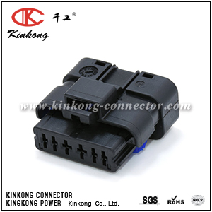 6 way female auto waterproof electrical connector CKK7063-1.5-2.5-21