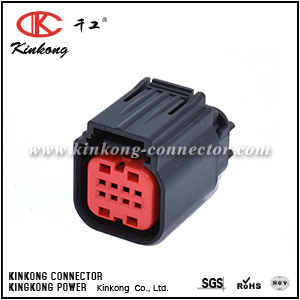 1411001-1 8 pin female tyco amp connector CKK7083-0.7-21