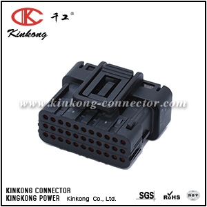 6189-7106 33 pole Motorcycle ECU ECM 025 waterproof connector   CKK733S-0.7-21