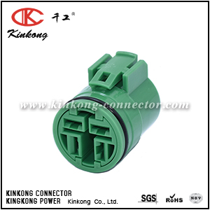 4 pole female waterproof wire connector CKK7047D-6.3-21