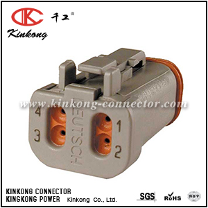 AT06-4S-EC01 DT06-4S-E003  4 pole female connector