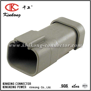 AT04-4P-EC01 DT04-4P-E003 4 pin male electric connector