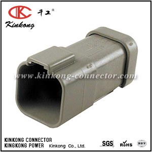 AT04-6P-EC01  DT04-6P-E003  6 hole male car connector