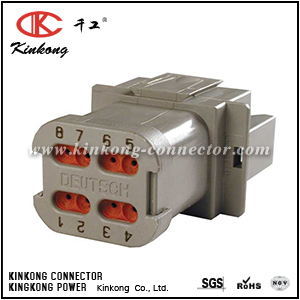 AT04-08PA-EC01 DT04-08PA-E003  8 pin cable connector