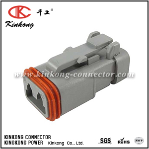 AT06-2S-EC01 DT06-2S-E003  2 way auto connector