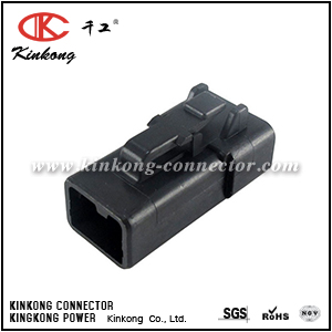 DTP06-2S-E004 ATP06-2S-BLK  2 way female auto connector