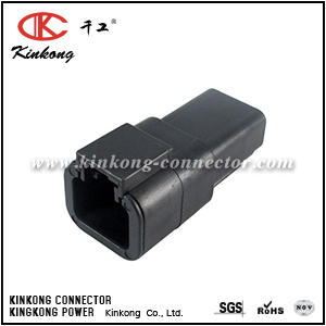 DTP04-2P-E004 2 pin male  wire connector