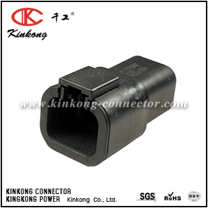 DTP04-4P-E004 ATP04-4P-BLK 4 pin male electric wiring connector